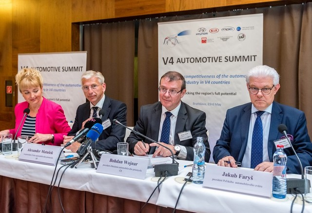 AutoSAP chystá V4 Automotive Summit