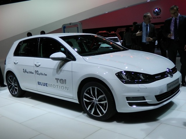 Volkswagen Golf TGI BlueMotion na CNG