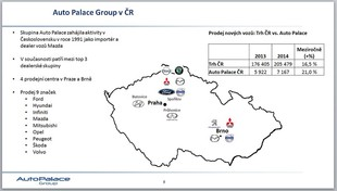 Auto Palace Group roste