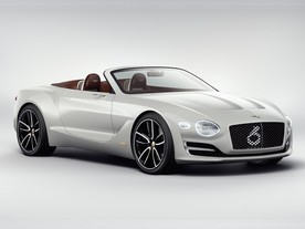 Bentley EXP 12 Speed 6e - nečekaný elektrošok
