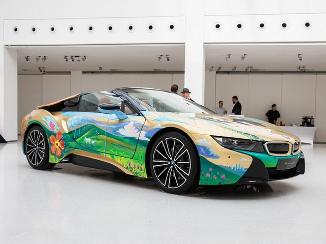 BMW i8 Roadster 4 elements by Milan Kunc prodán