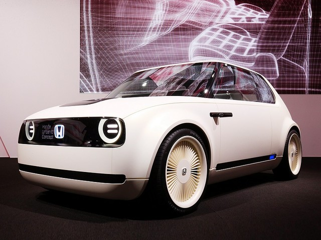 Honda Urban EV Concept do prodeje