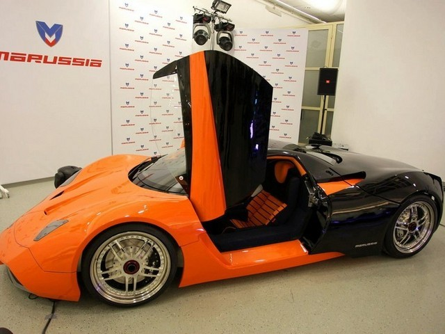 Marussia - supersport z Ruska