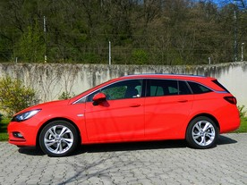 Nový Opel Astra Sports Tourer